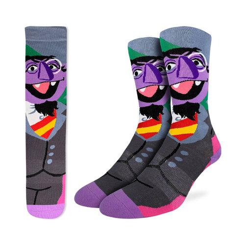 Good Luck Sock Count Von Count Socks