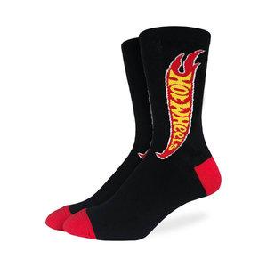 Good Luck Sock Hot Wheels Logo Socks