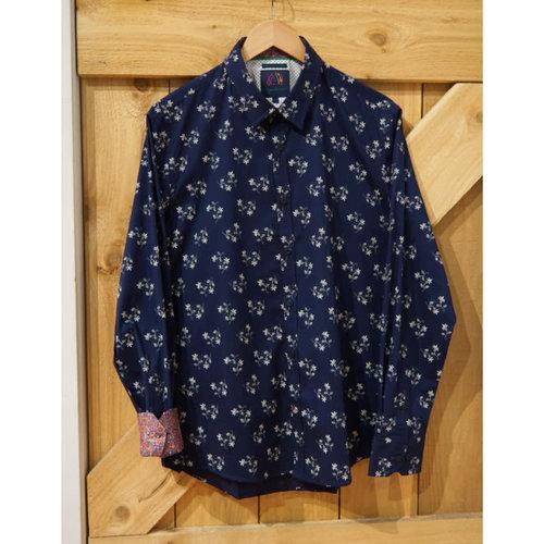 John Lennon Collection Fleur De Lis L/S Dress Shirt