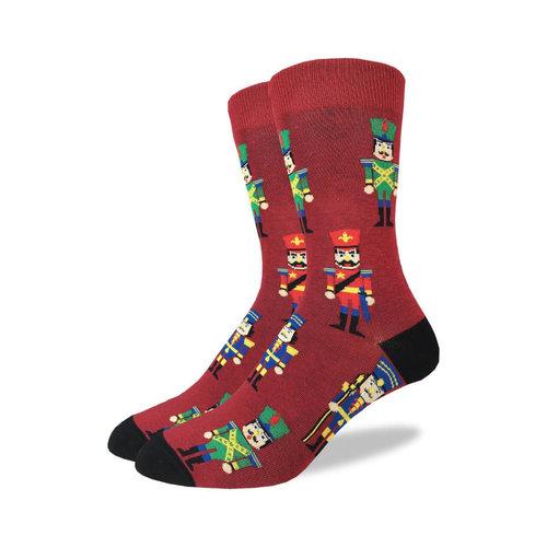 Good Luck Sock Nutcracker Men Christmas Socks