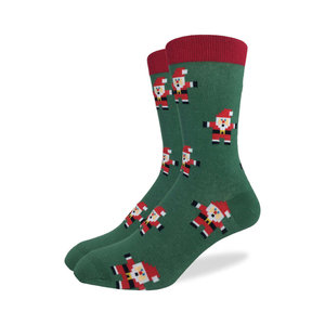 Good Luck Sock Santa Claus Christmas Socks