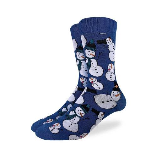 Good Luck Sock Snowmen Christmas Socks