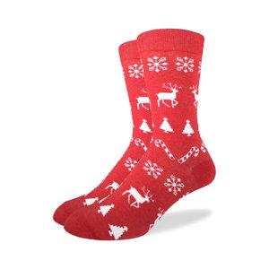 Good Luck Sock Christmas Holiday Socks