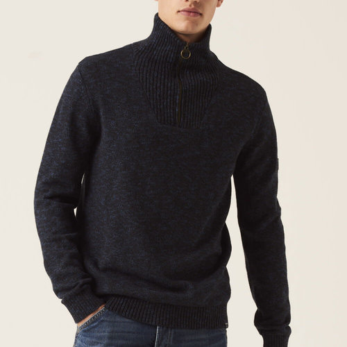 Garcia Zip Collar Knit Sweater