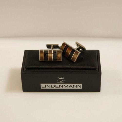 Lindenmann Striped Cufflinks
