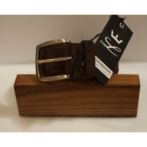 Lindenmann Suede Leather Belt