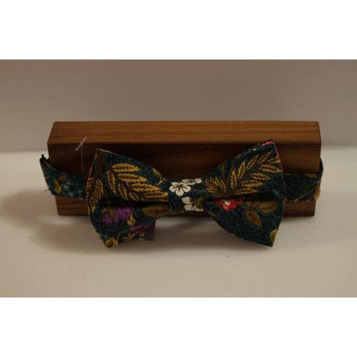 Beaux Autumn Floral Pre-Tie Bow Tie
