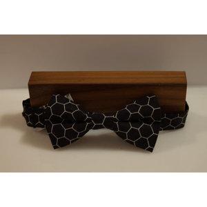 Beaux Honeycomb Pre-Tie Bow Tie