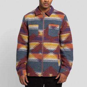 RVLT Pattern Overshirt Zip Jacket