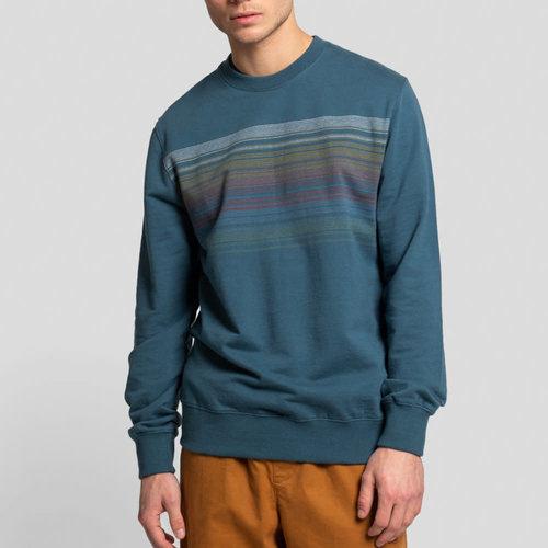 RVLT Crewneck Sweatshirt Stripe