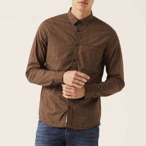 Garcia Printed 100% Cotton L/S Shirt