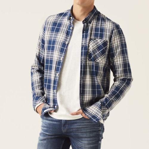 Garcia 100% Cotton L/S Plaid Shirt