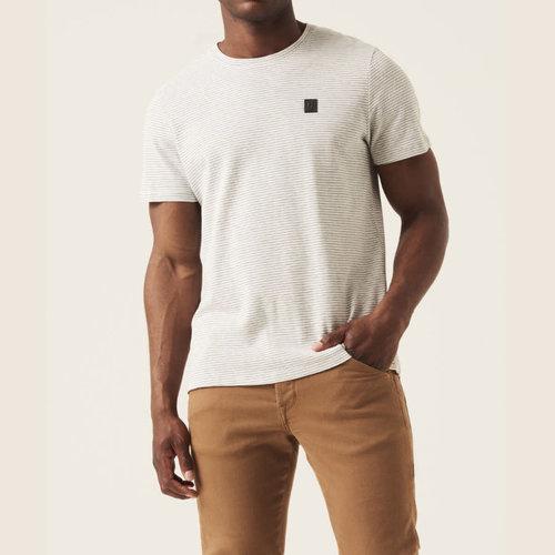 Garcia Scalloped Stripe T-Shirt