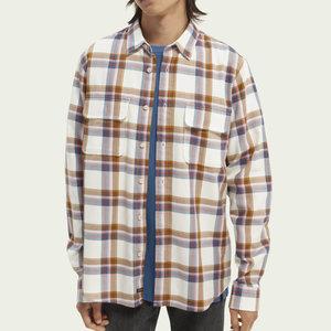 Scotch & Soda Regular Fit Twill Shirt