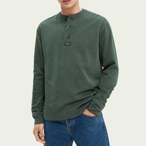 Scotch & Soda Grandad L/S T-Shirt