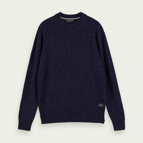 Scotch & Soda Speckled Wool Blend Pullover
