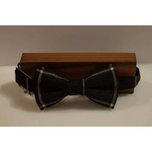 Beaux Robinson Check Pre-Tie Bow Tie
