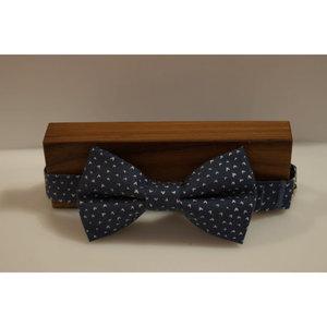 Beaux Chevron Pre-Tie Bow Tie