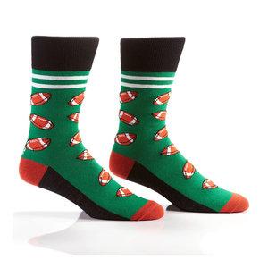 Yo Sox Football Crew Socks