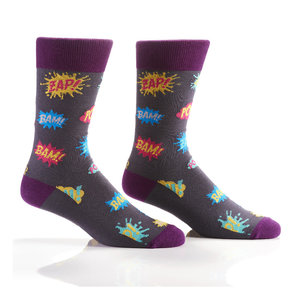 Yo Sox Pow Crew Socks