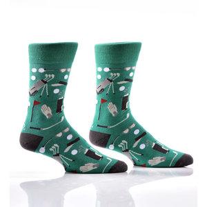 Yo Sox Golf Crew Socks