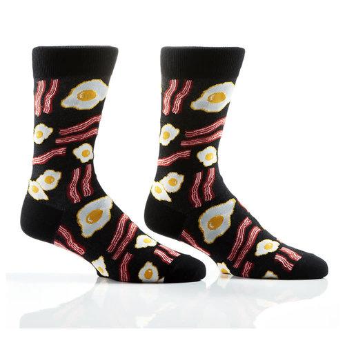 Yo Sox Breakfast Crew Socks