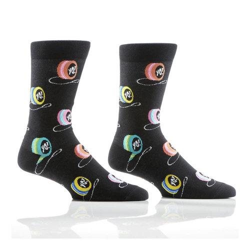 Yo Sox King of String Crew Socks