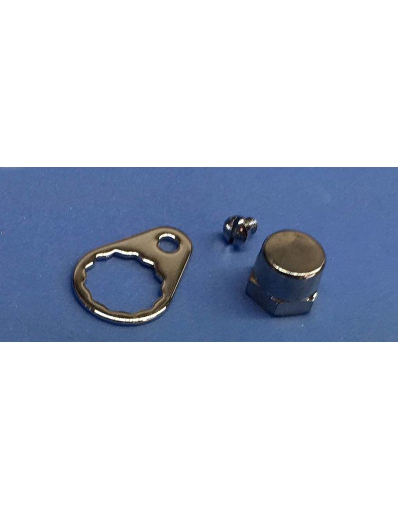 Abu Garcia Ambassadeur 7000, 7000C Handle Nut Set 8907 1116105 replaces 4581 1116106 replaces 6968 - Bin 299