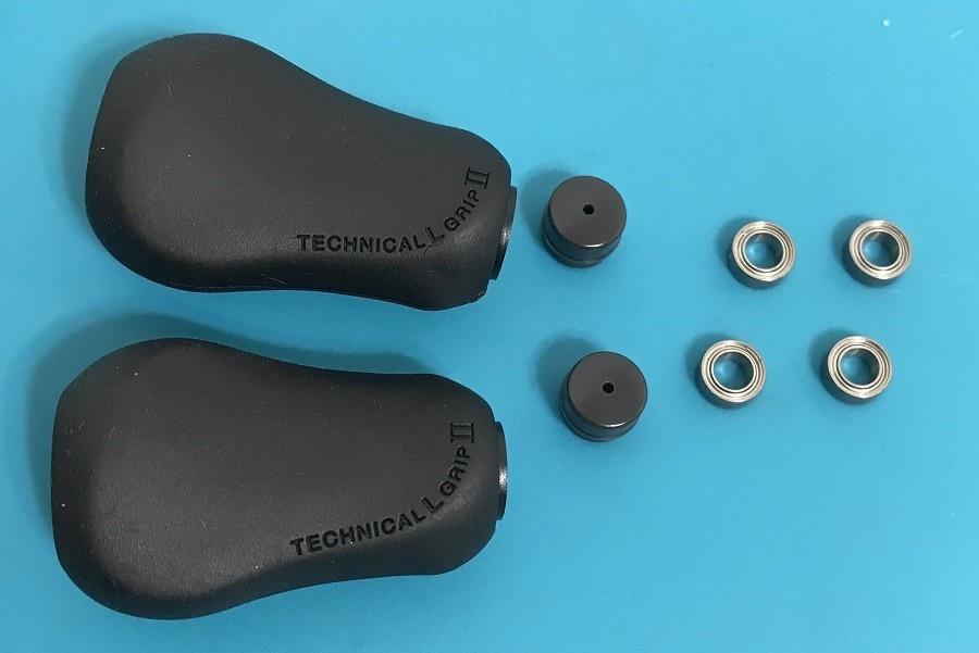 Shimano K89L - Shimano BNT4240 Handle Grip Upgrade Kit for Left Hand Retrieve Reels