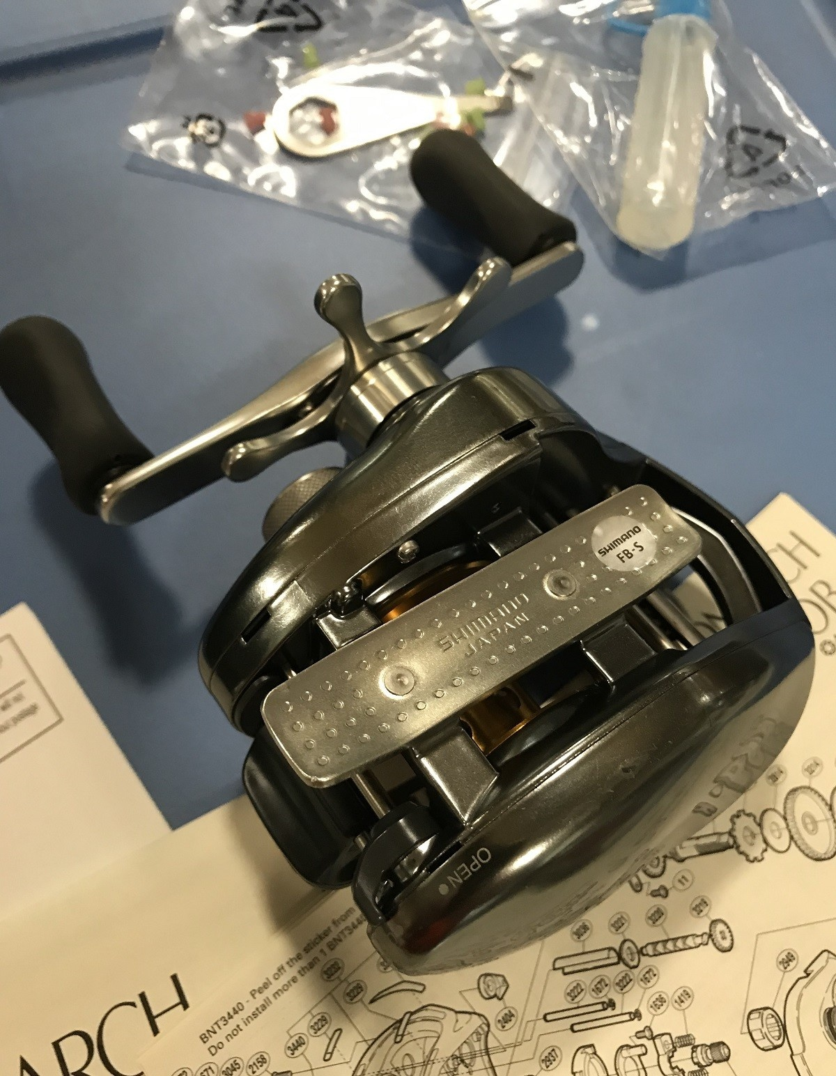 Shimano Vintage Shimano Chronarch CH100B near MINT condition in original box
