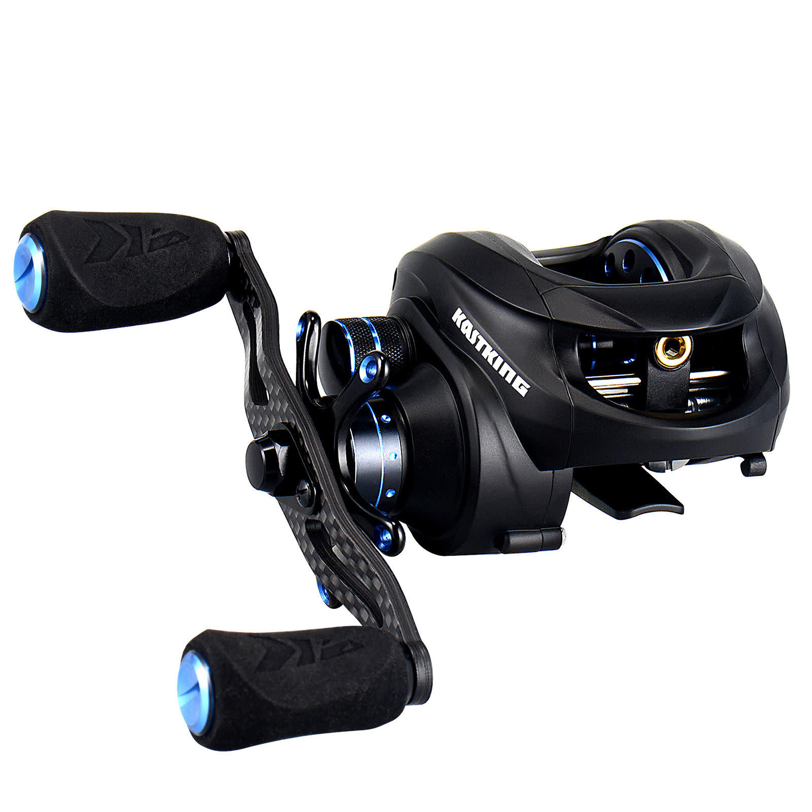 NEW - KASTKING ASSASSIN CARBON BAITCASTING REEL