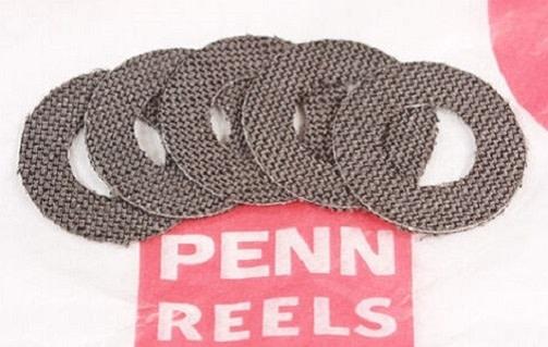 Penn 115 115L 115L2 9/0 HT-100 Carbon Drag Washers (Qty 5)