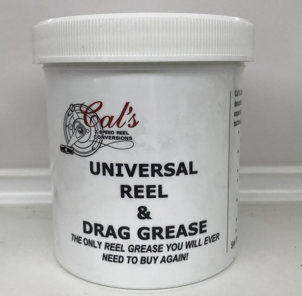 Cal's Grease Cal's TAN Original Universal Reel and Star Drag grease 1 LB Tub
