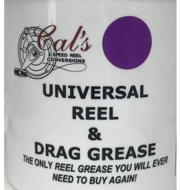 Cal's Grease 1/2 Oz. - Cal's Purple Universal Reel & Star Drag Grease