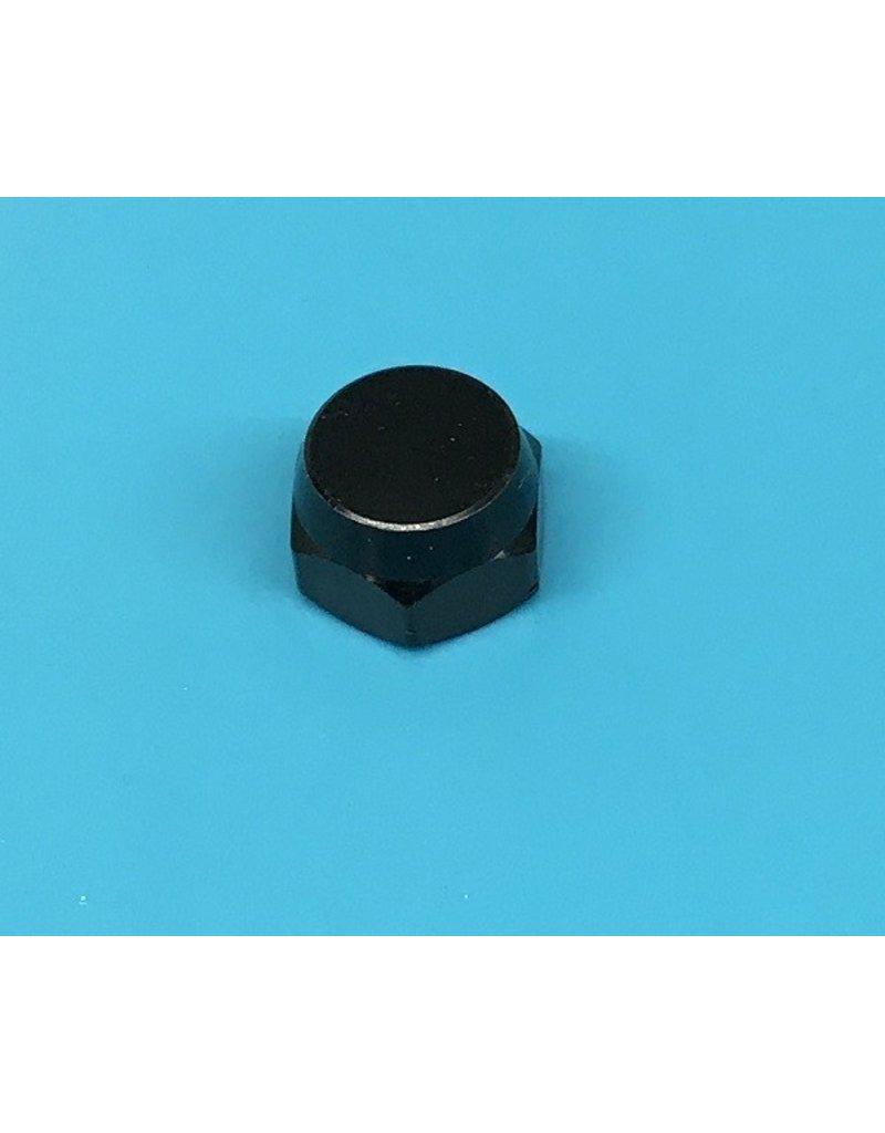 Abu Garcia 1214326 -  Abu Black Anodized Aluminum Handle Nut - 11C