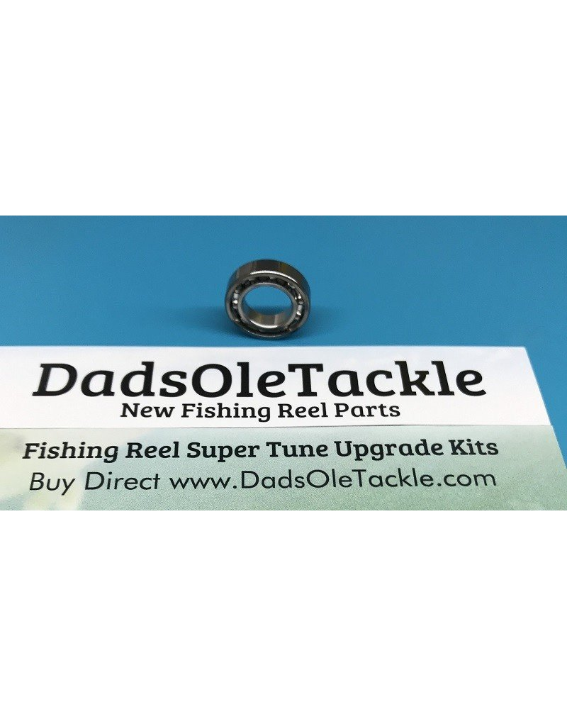 DadsOleTackle 8X14X3.5mm Unshielded Stainless Steel High Quality Japan Fishing Reel Bearing part number D21