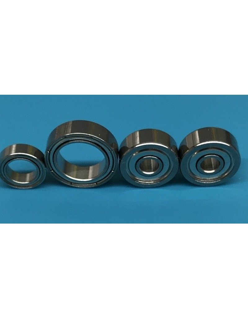 Shimano Shimano Chronarch 100D7 Stainless Steel Bearing Upgrade Kit Set of 4 Set K39 - D09, D20, D03-qty2