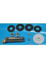 Abu Garcia K67 - Super Tune Upgrade Kit for many Abu Garcia Ambassadeur 6000 6001 6500 6501 6600 6601  Bearings & Carbon Drag Washers