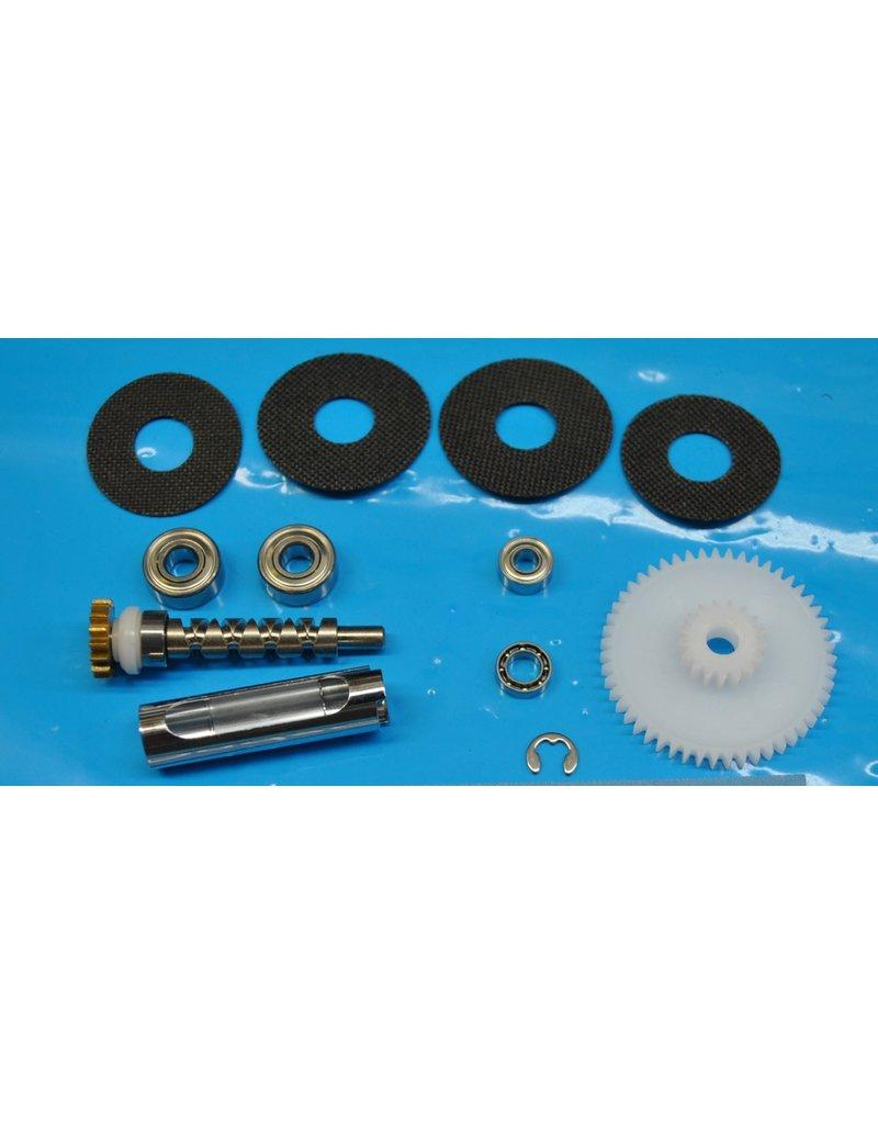 Abu Garcia Ambassadeur 4500 4600 Super Tune Upgrade Kit With Bearings & Carbon Drag Washers