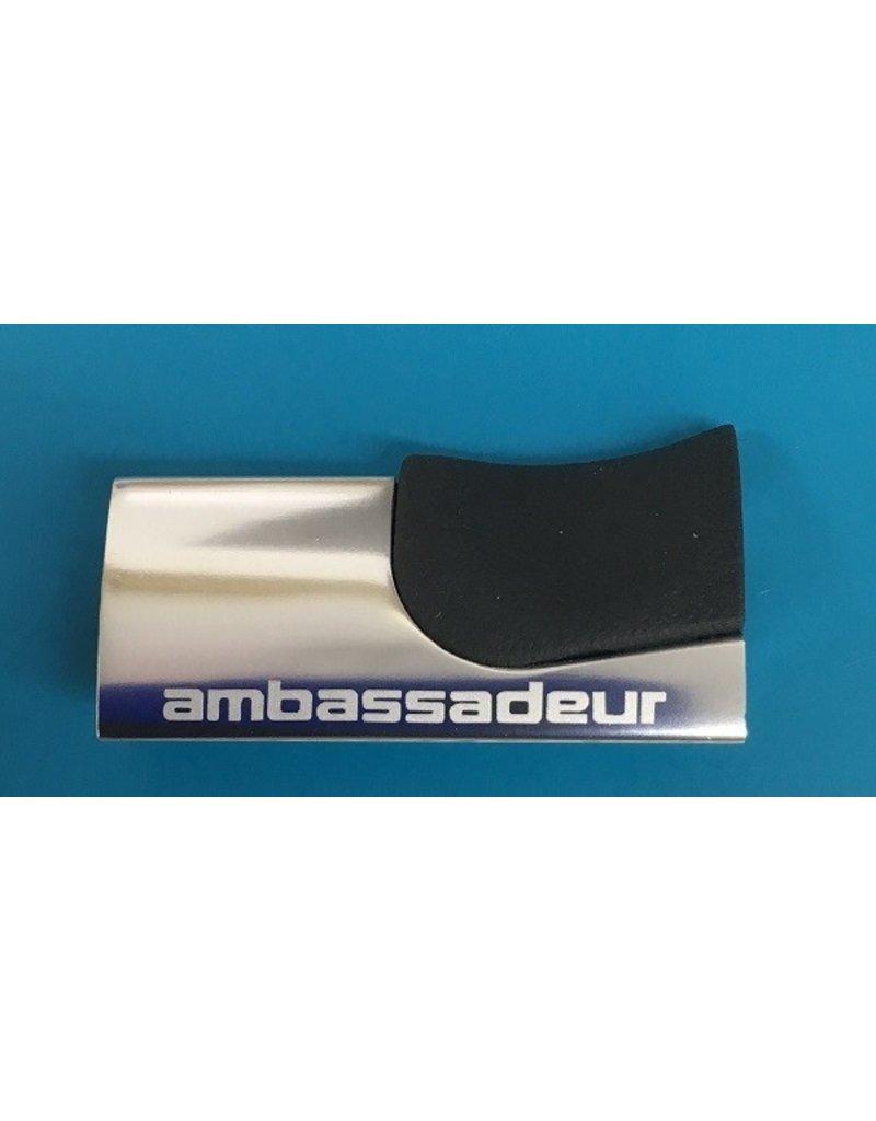 Abu Garcia Abu Garcia Ambassadeur Record 60 Aluminum Thumb Rest will fit most Abu 6000, 6500, 6600 series reels - part number 1117114