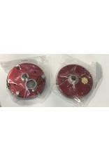 Abu Garcia Abu Garcia Ambassadeur 7000 Red Side Plate Set New Old Stock part 4101 and 21604 -Discontinued item