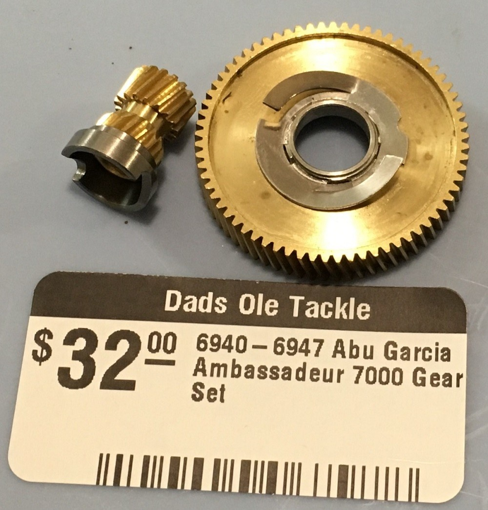 Abu Garcia 6940-6947  Abu Garcia Ambassadeur 7000 Gear Set - 494