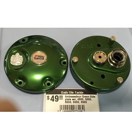 Abu Garcia Ambassadeur Green Side plate set