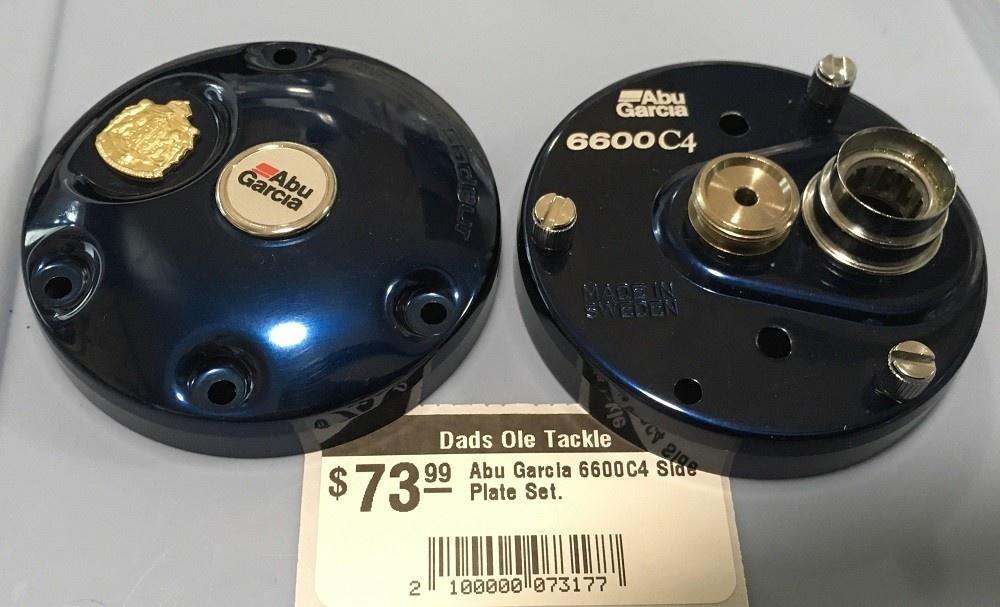 Abu Garcia 6600C4 Side Plate Set.
