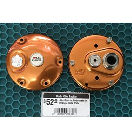 Abu Garcia Abu Garcia Ambassadeur Orange Side Plate Set - G76