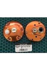 Abu Garcia Ambassadeur 5500 orange side plate set NLA  - C107