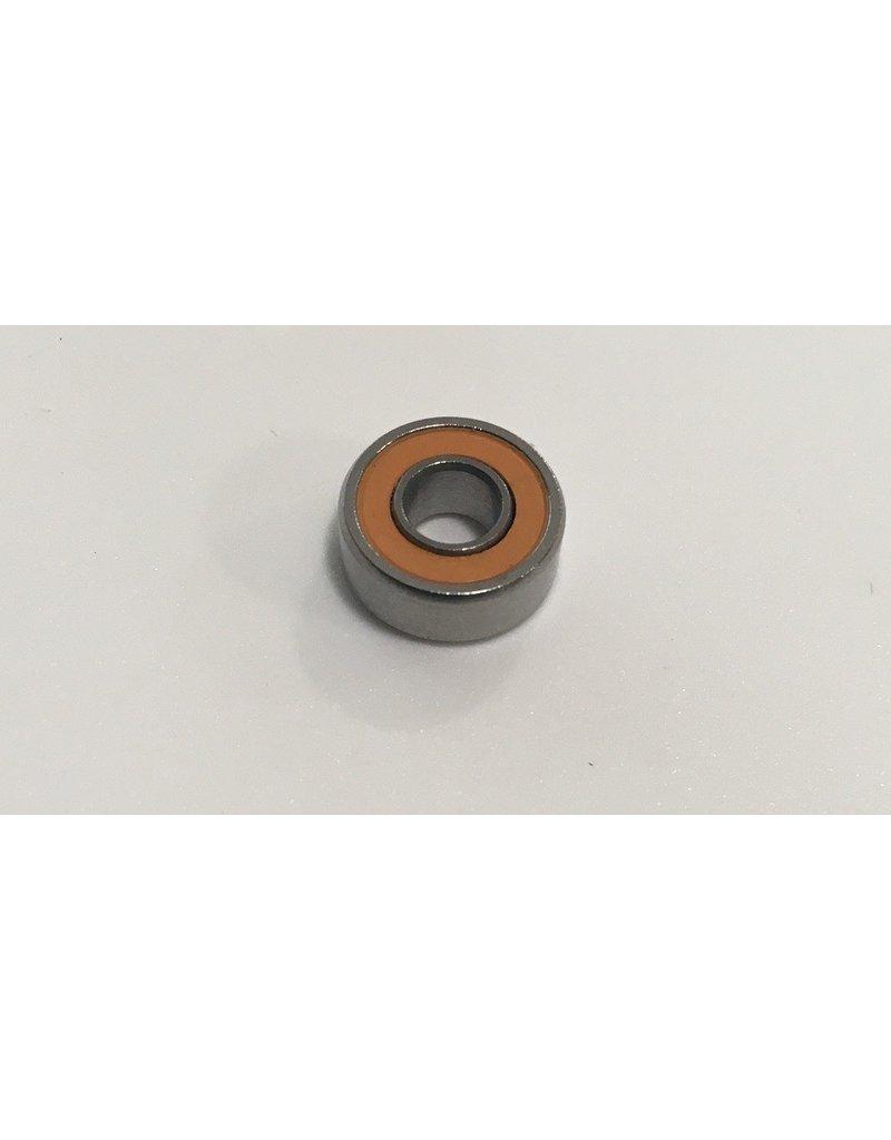 Boca 4x10x4mm Ceramic Hybrid Orange Seal Bearing