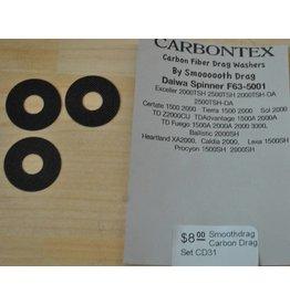 Daiwa CD31 - Daiwa Spinner F63-5001 Smoothdrag Carbon Drag Set
