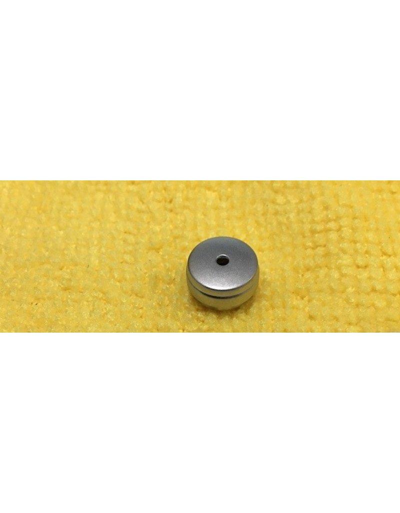 1281321  Abu Garcia Ambassadeur Silver Handle Grip Cap