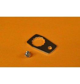 Bin 963 - 20944 +14868 - Nut Keeper & Screw Abu Garcia Ambassadeur 4000 5000 6000 series - K04